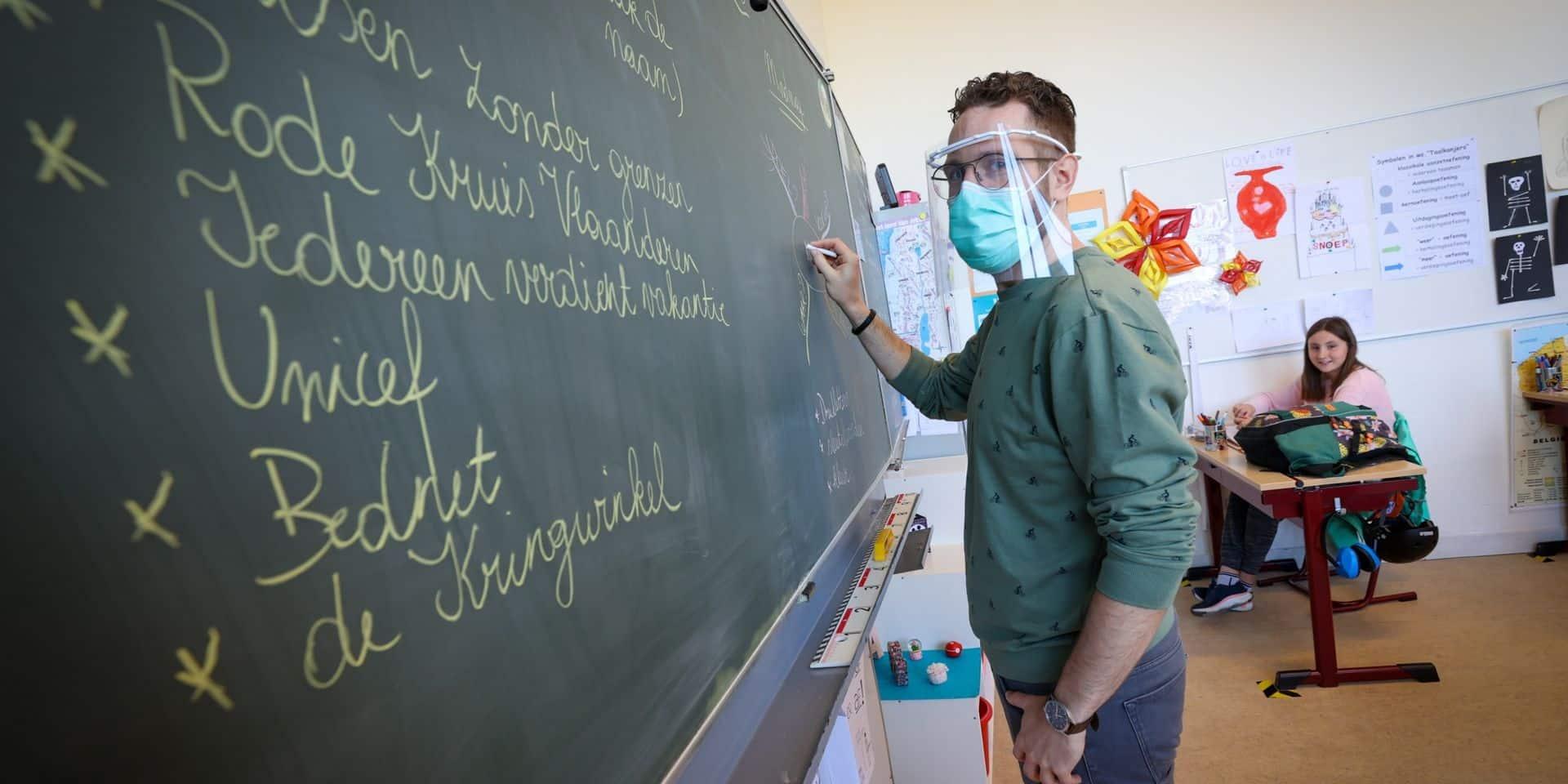 Coronavirus : Les écoles flamandes rouvriront leurs portes à plein temps en septembre