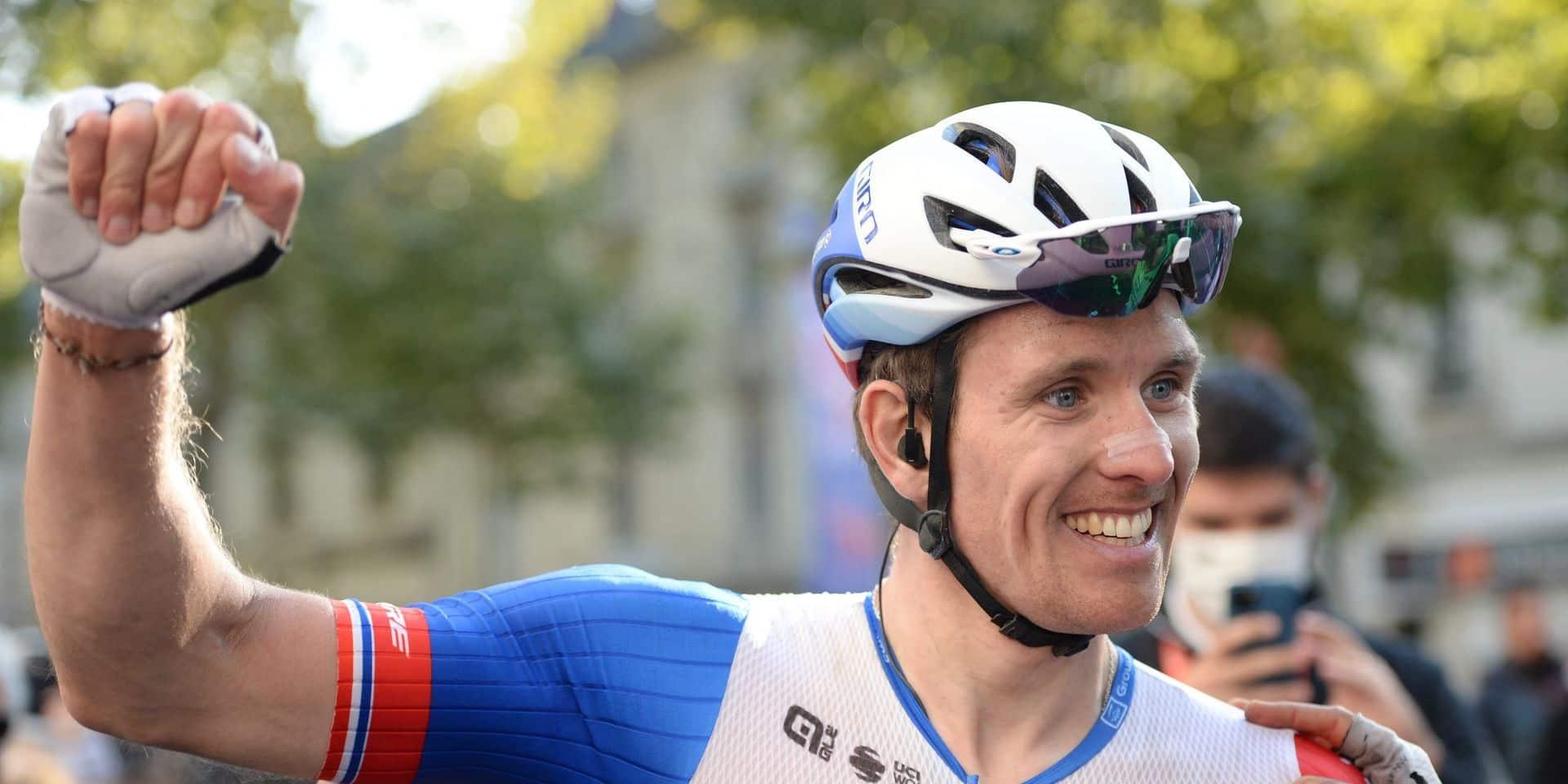 """Arnaud Démare sauve sa saison sur Paris-Tours: """"Je ne pensais pas que ce parcours me sourirait"""""""