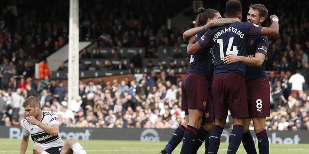 Premier League: Arsenal marche sur Fulham grâce à Lacazette et Aubameyang - La DH