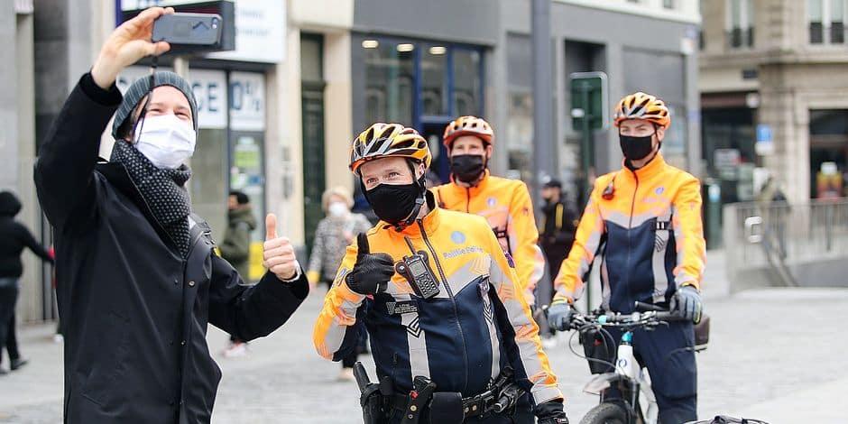 Un jeune Bruxellois sur quatre a peur de la police