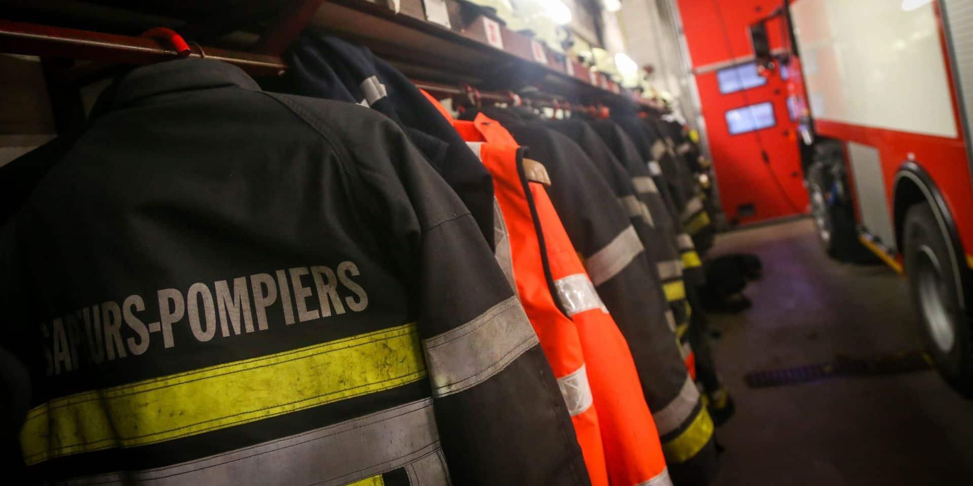 Deux personnes évacuées lors d'un incendie d'habitation à Tubize