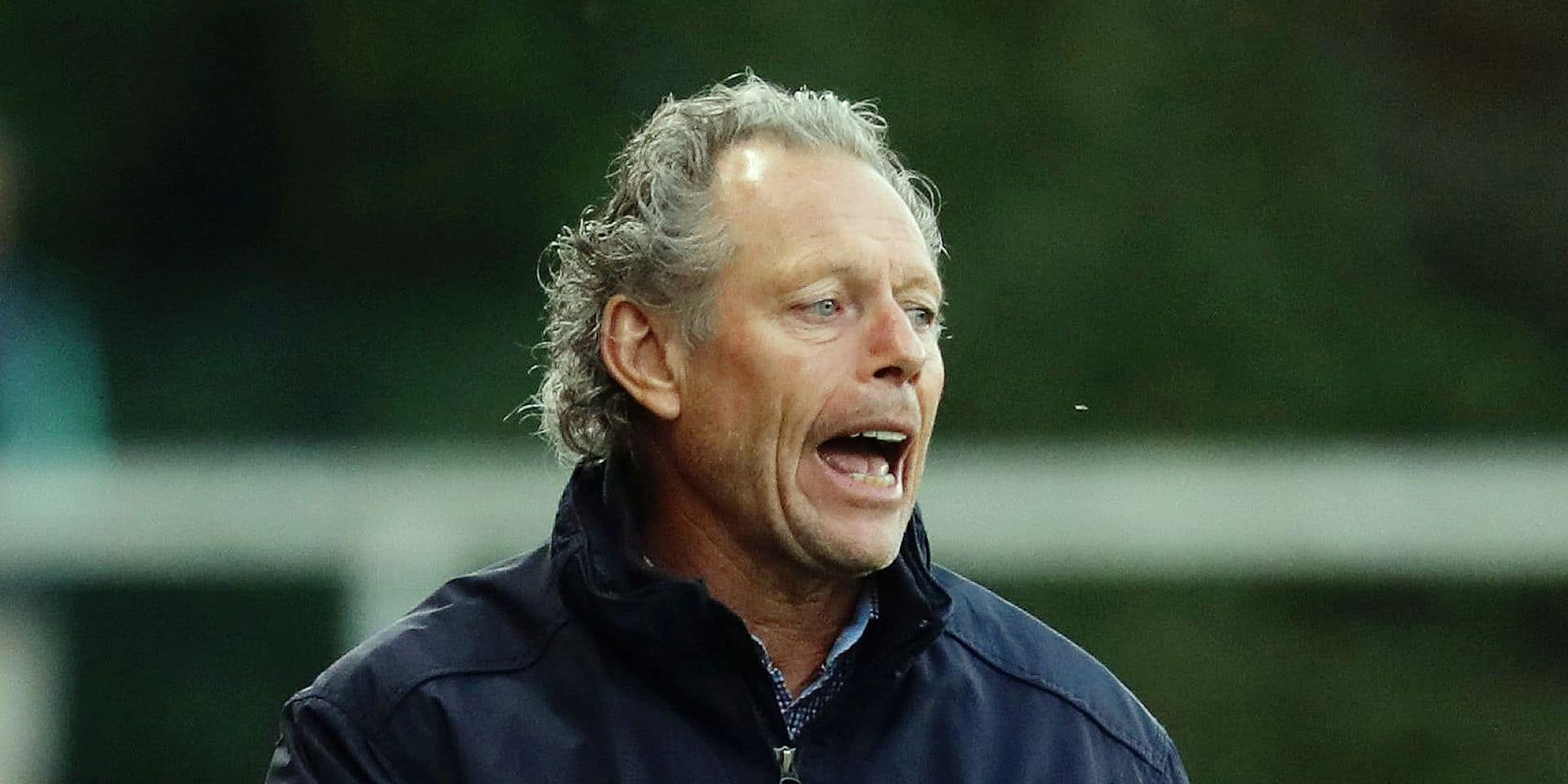 Standard's head coach Michel Preud'homme pictured during a soccer game between Royal Excel Mouscron and Standard de Liege, Saturday 20 October 2018 in Mouscron, on the eleventh day of the 'Jupiler Pro League' Belgian soccer championship season 2018-2019. BELGA PHOTO VIRGINIE LEFOUR
