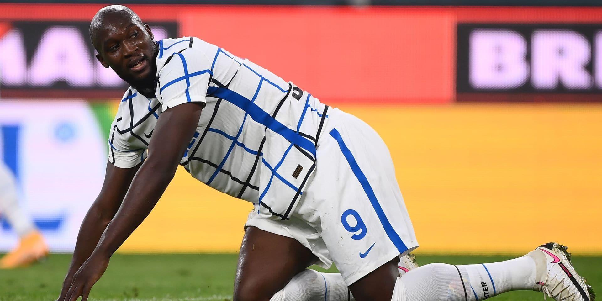 Romelu Lukaku, coupé en plein élan