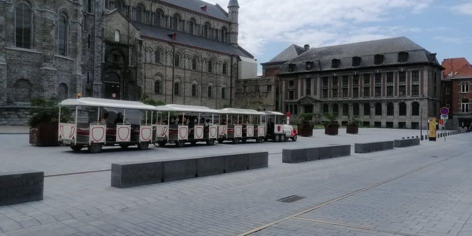 Tournai est toujours aussi prisée par les touristes