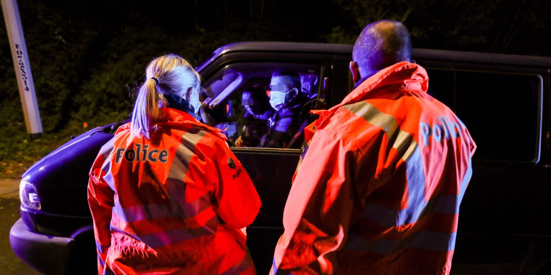 La police découvre 17 clandestins vietnamiens dans un camion sur l'E19 à Wauthier-Braine
