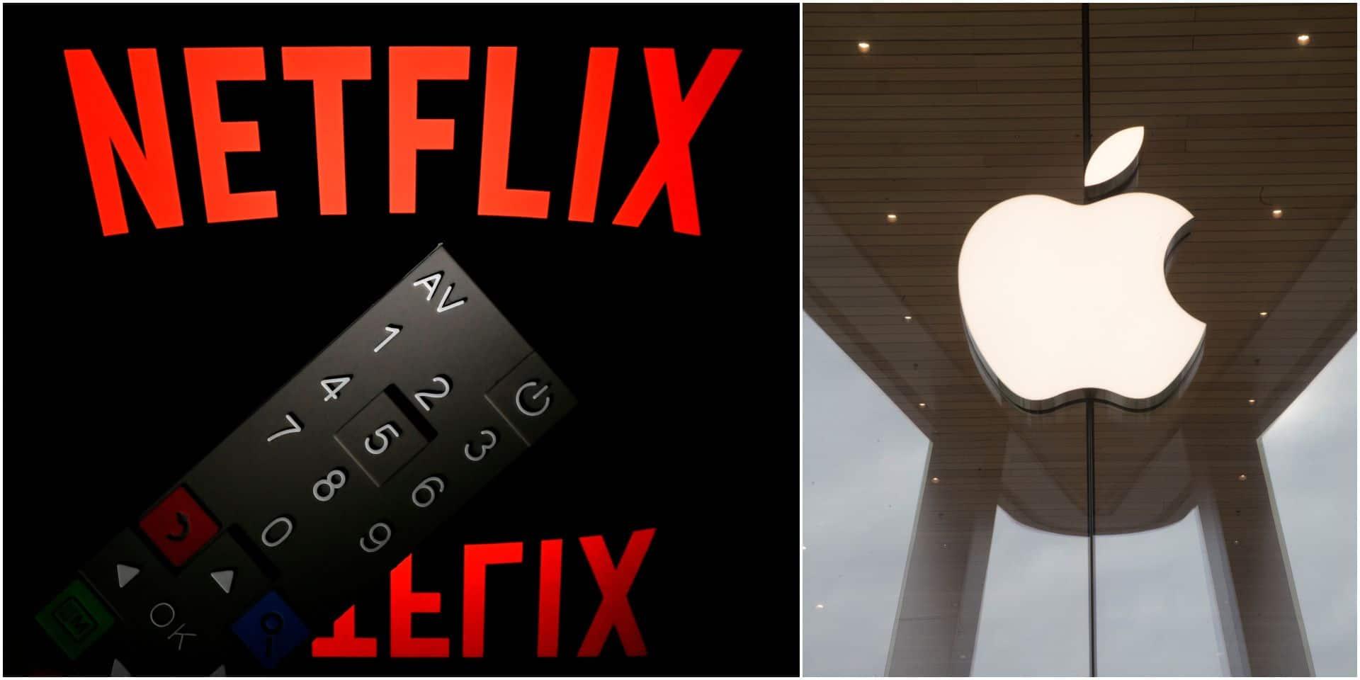 Vers un rachat de Netflix par Apple ? La proposition d'une banque américaine suscite de nombreux commentaires