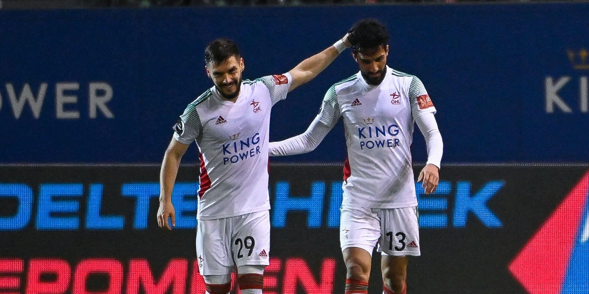 OHL bat l'Antwerp 2-0 et revient à 3 points du top 4