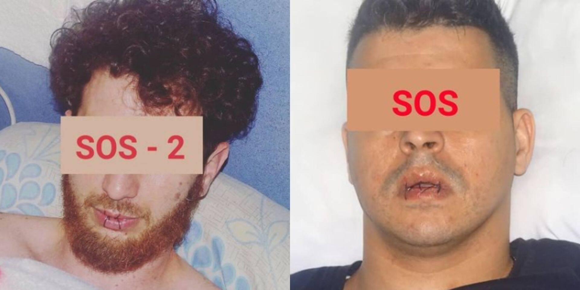 Grève de la faim de sans-papiers: deux personnes se cousent les lèvres