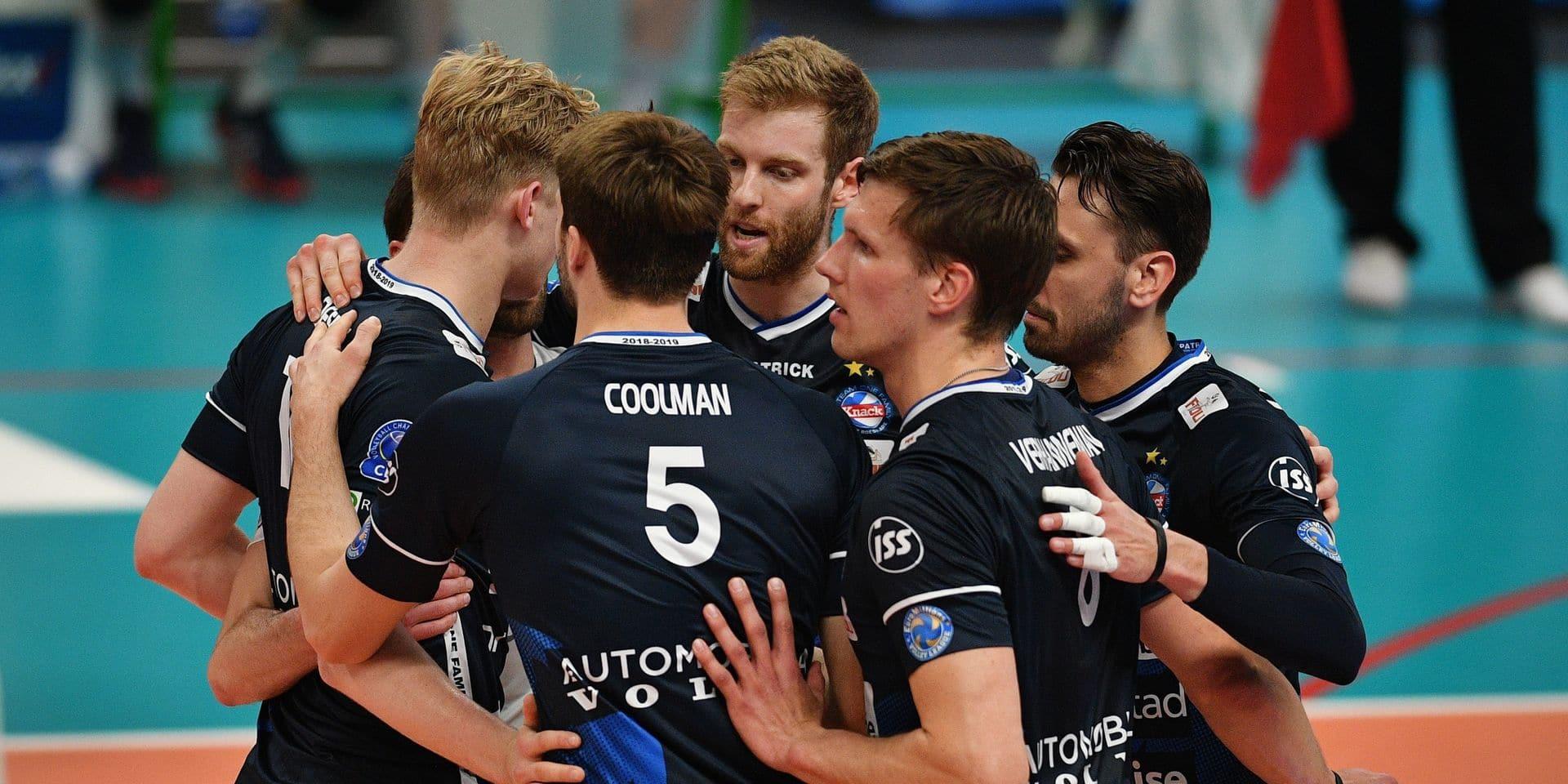 Volley-ball: Roulers a tenu un set face à Civitanova, la meilleure équipe du monde