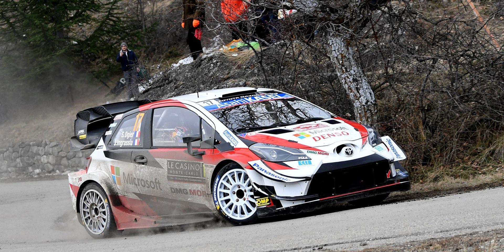 Rallye Monte-Carlo 2e étape: Ogier prend la tête 1.2 devant Evans, 2e scratch pour Neuville