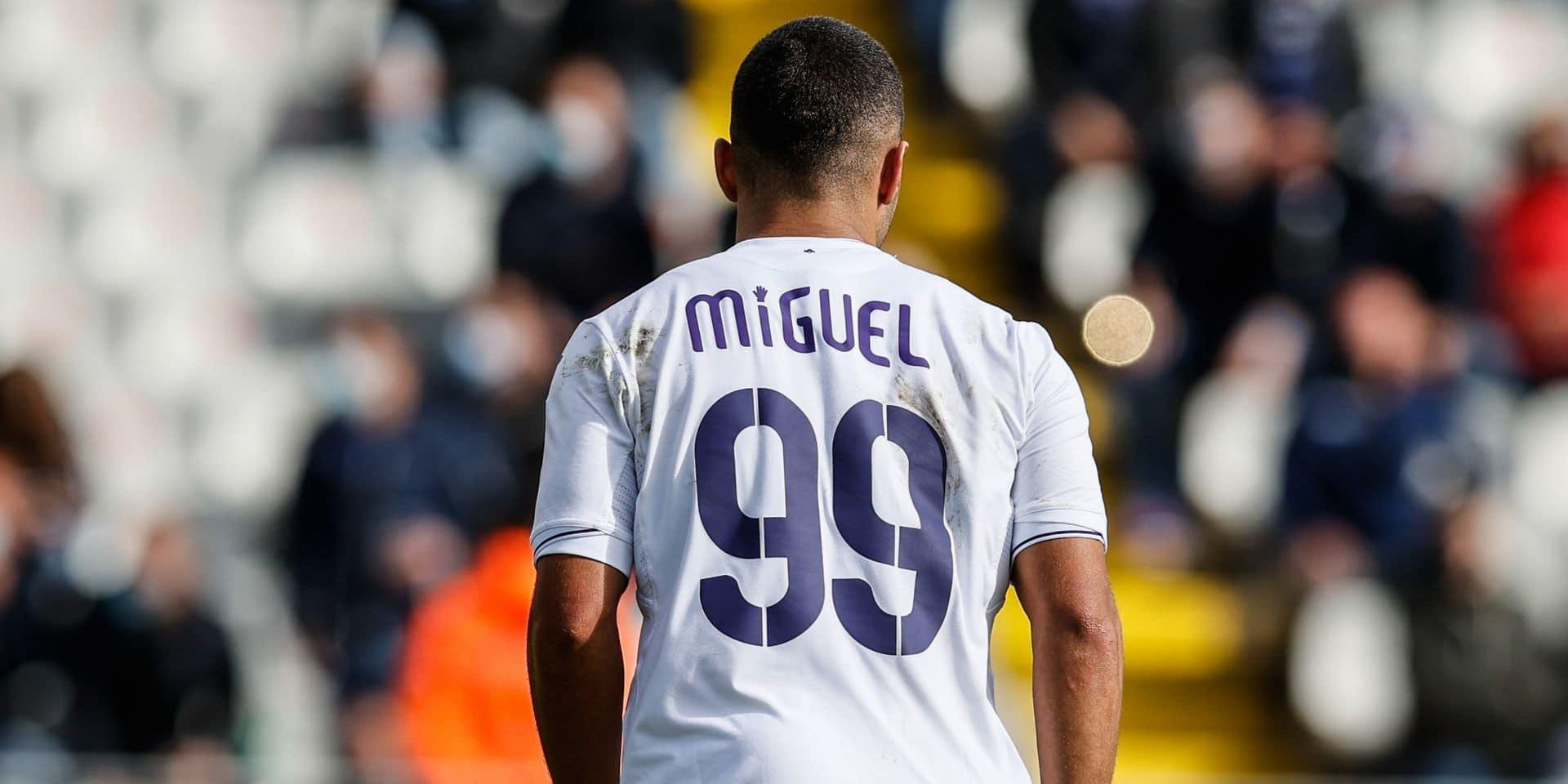 """Anderlecht verse 6381 euros à la Fondation Me To You grâce à l'action des maillots """"Miguel"""""""
