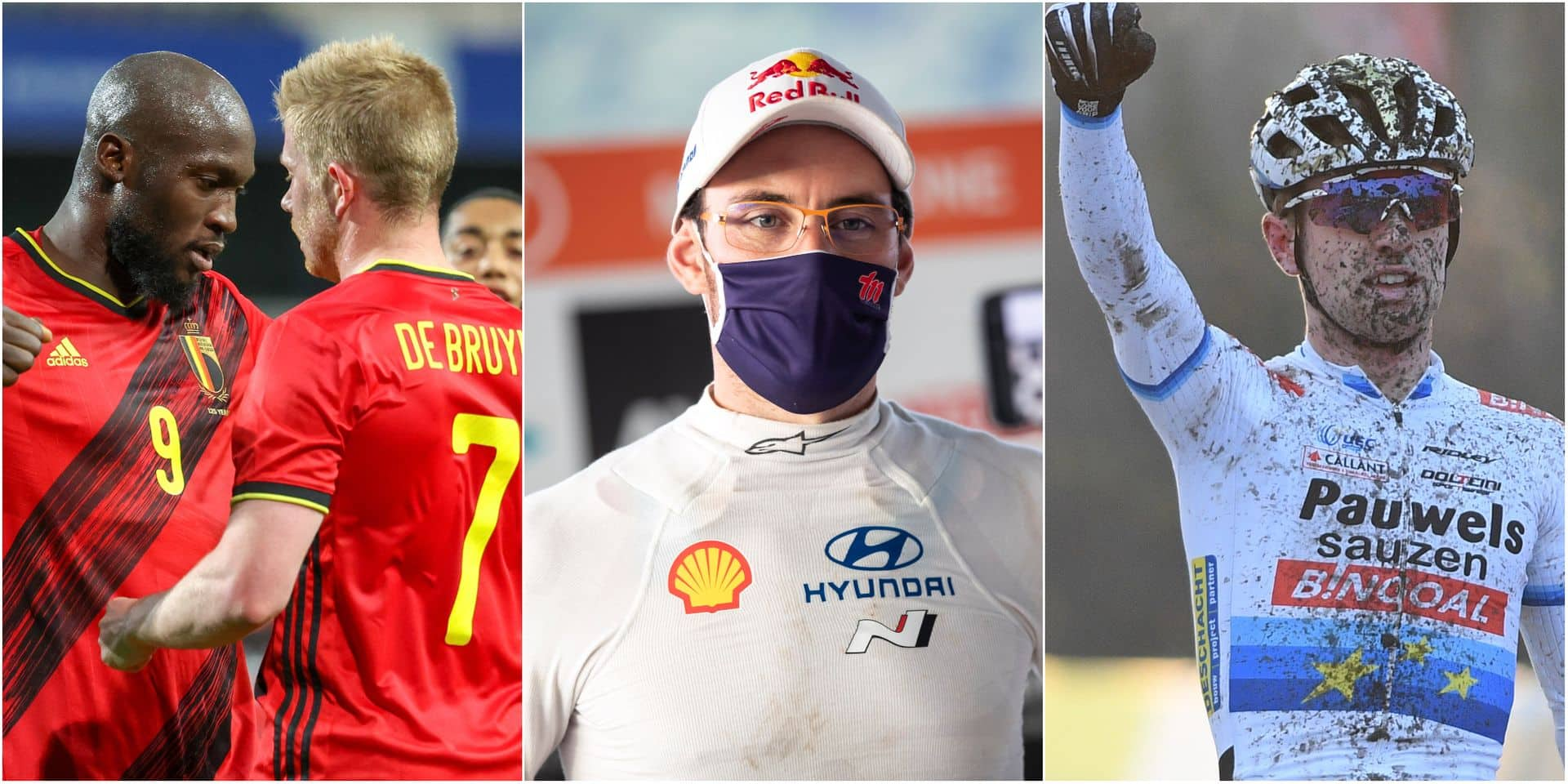 Diables, Neuville ou Iserbyt: choisissez un sujet traité par notre rédaction sportive !
