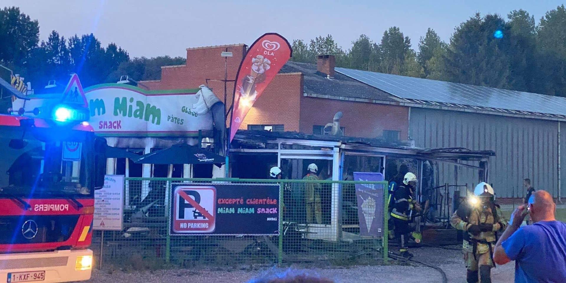 Jemeppe: la friterie Miam Miam détruite par le feu, le propriétaire est dévasté
