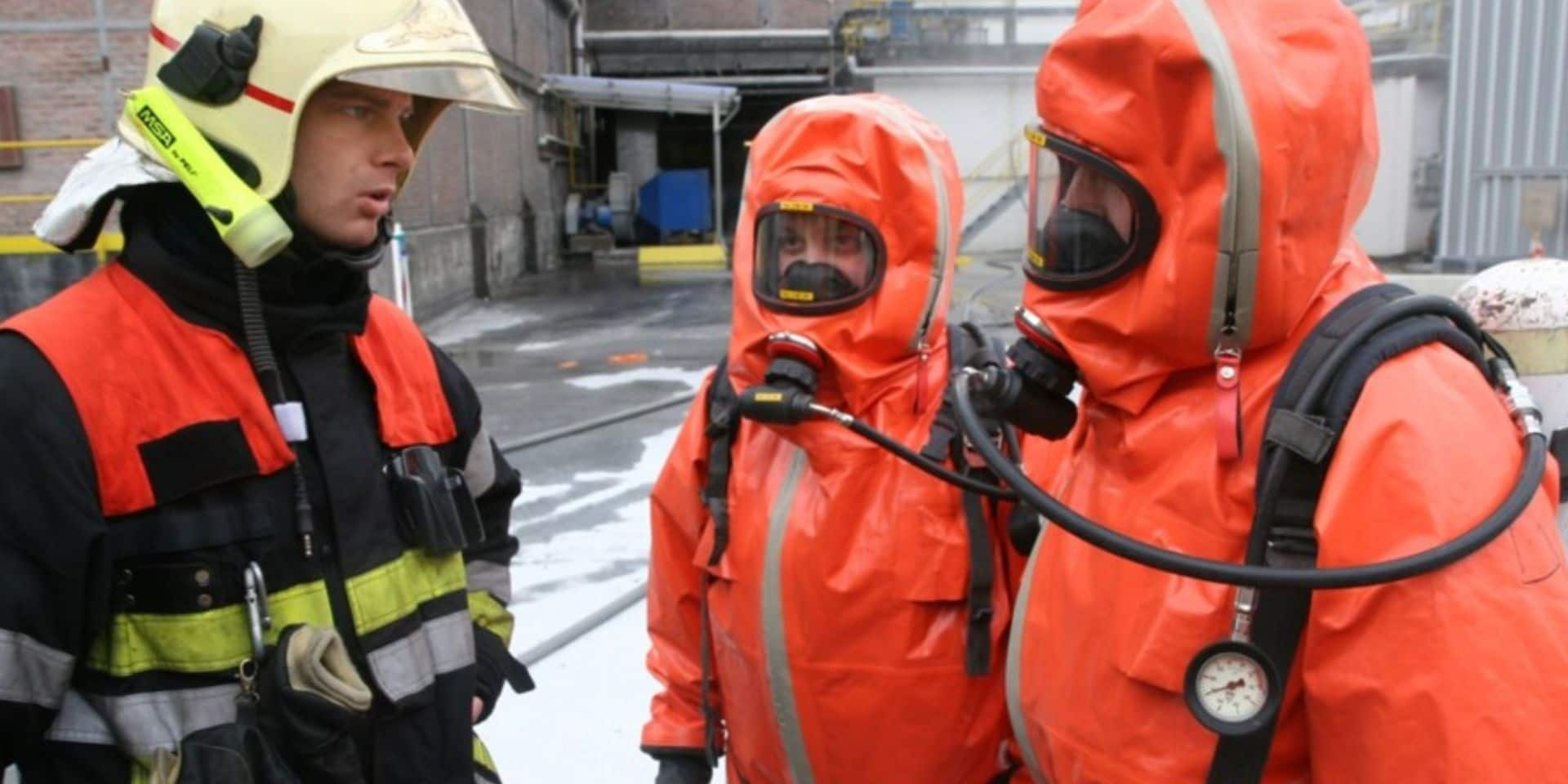 Engis: six ouvriers victimes d'émanations après une fuite dans une cuve