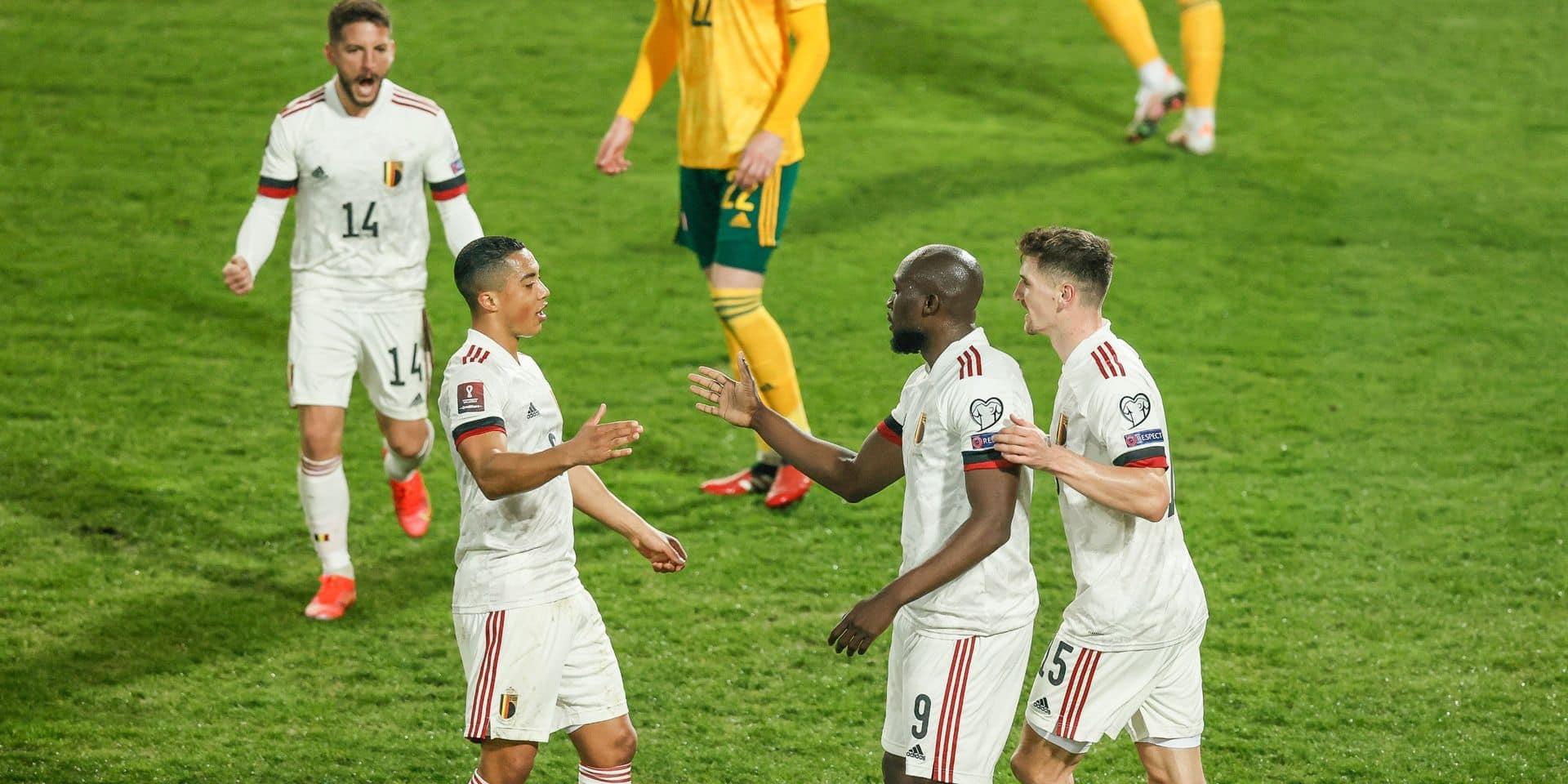 Les Diables Rouges devant au moins 11.000 spectateurs à Copenhague pour l'Euro