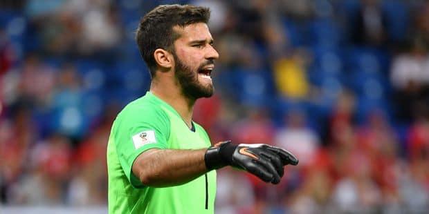 Le Brésilien Alisson, gardien le plus cher de l'histoire, vient concurrencer Mignolet à Liverpool - La DH