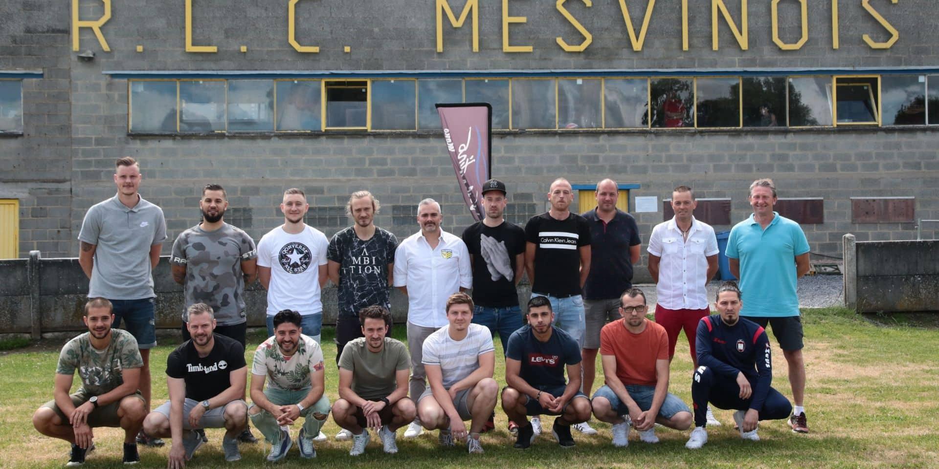 Le RLC Mesvin a lancé sa saison avec un nouveau venu: objectif forteresse