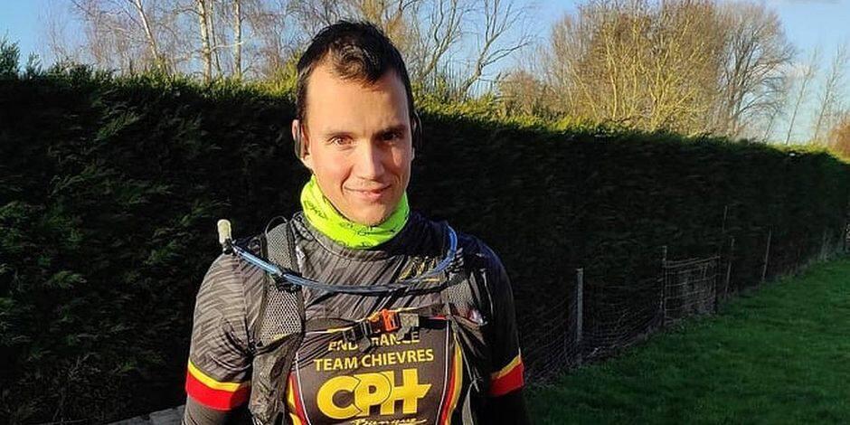 Objectif 200 kilomètres en 24 heures pour Jérôme Diricq
