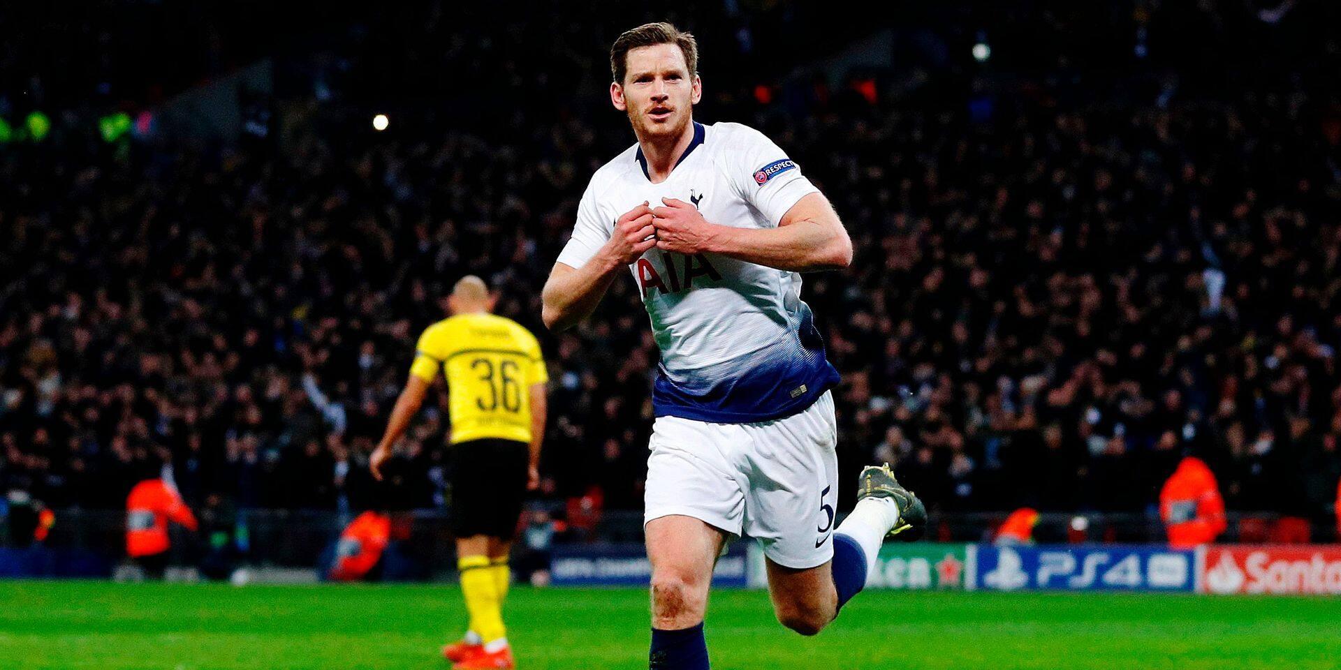 Ligue des Champions: un grand Vertonghen et Tottenham lavent l'honneur anglais