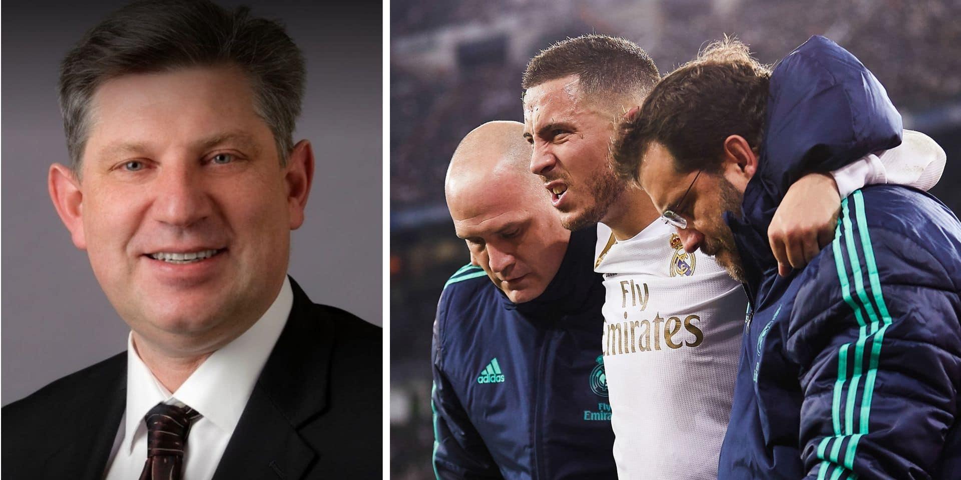 Le destin d'Eden Hazard entre les mains de l'orthopédiste des Dallas Mavericks, le médecin des Diables se montre confiant