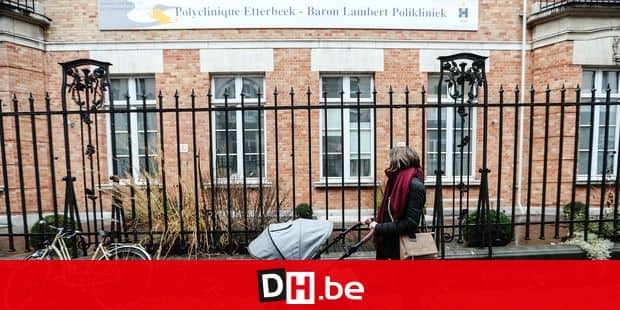 Photos Bernard Demoulin : Polyclinique Etterbeek Baron Lambert. Noemie Garin
