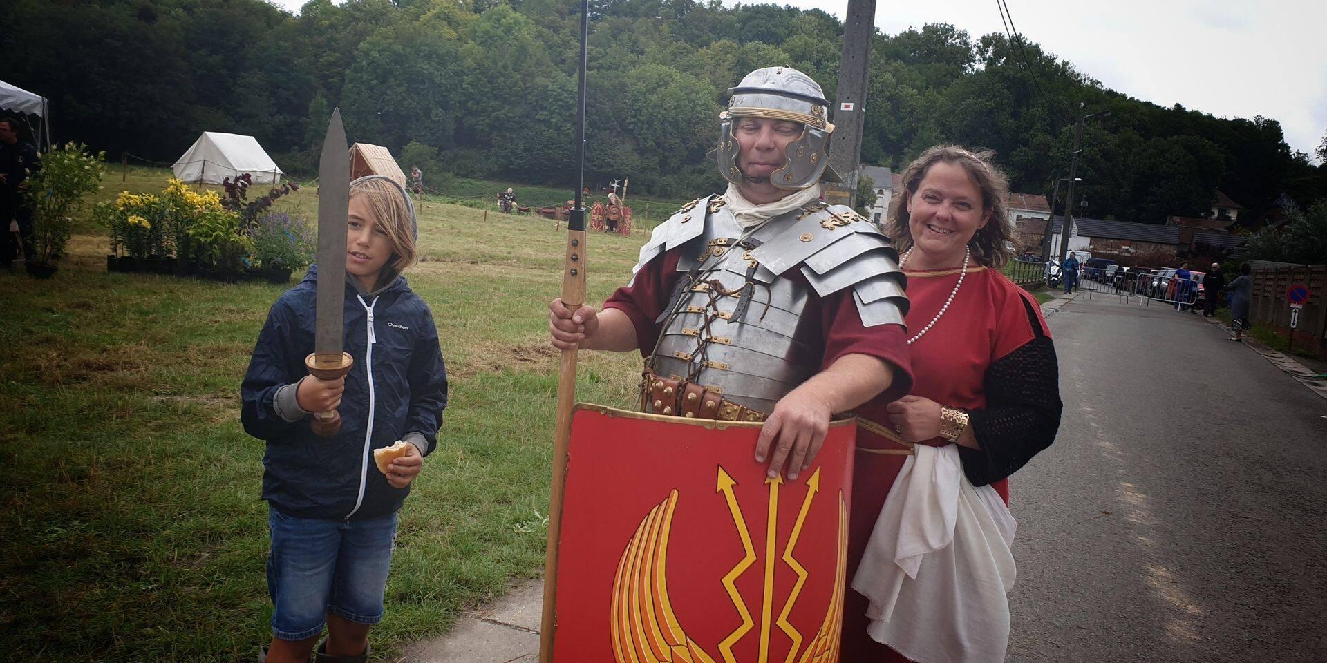 À la Statio Romana de Binche, l'Empire romain ne chutera pas