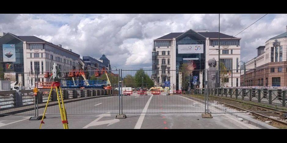 Plusieurs mois nécessaires à la réparation du pont Sainctelette