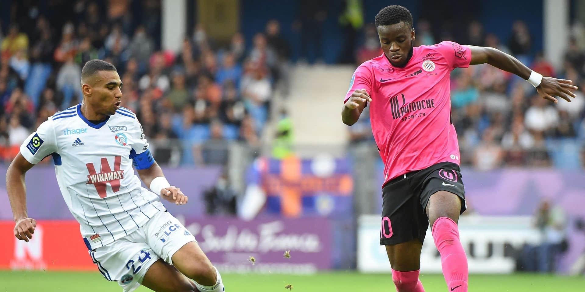 Ligue 1: Montpellier et Strasbourg se neutralisent
