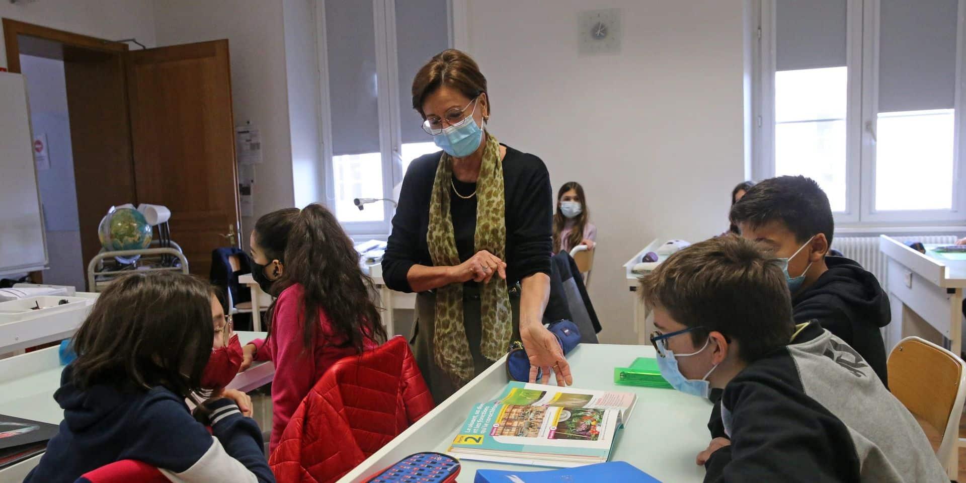 """""""Les enseignants font partie des professions essentielles qui seront vaccinées en priorité"""""""
