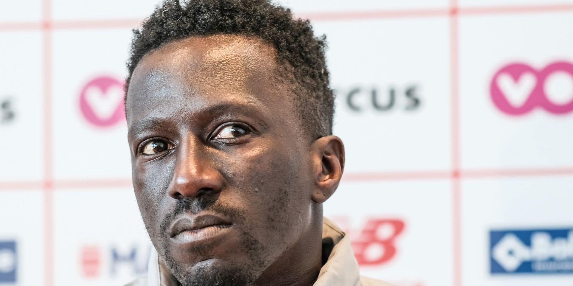 """Mbaye Leye veut enchaîner après la victoire en Croky Cup: """"Mon souhait : gagner dimanche et que Mouscron se sauve"""""""