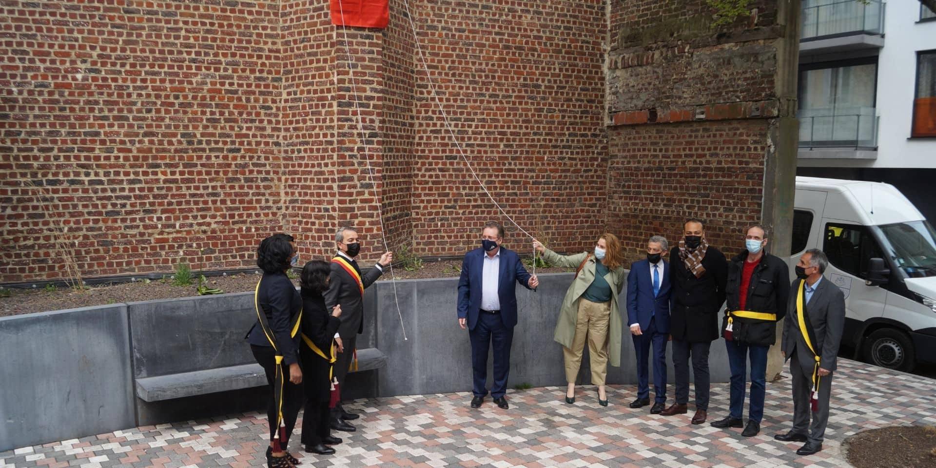 Saint-Josse : inauguration de la place Guy Cudell flambant neuve