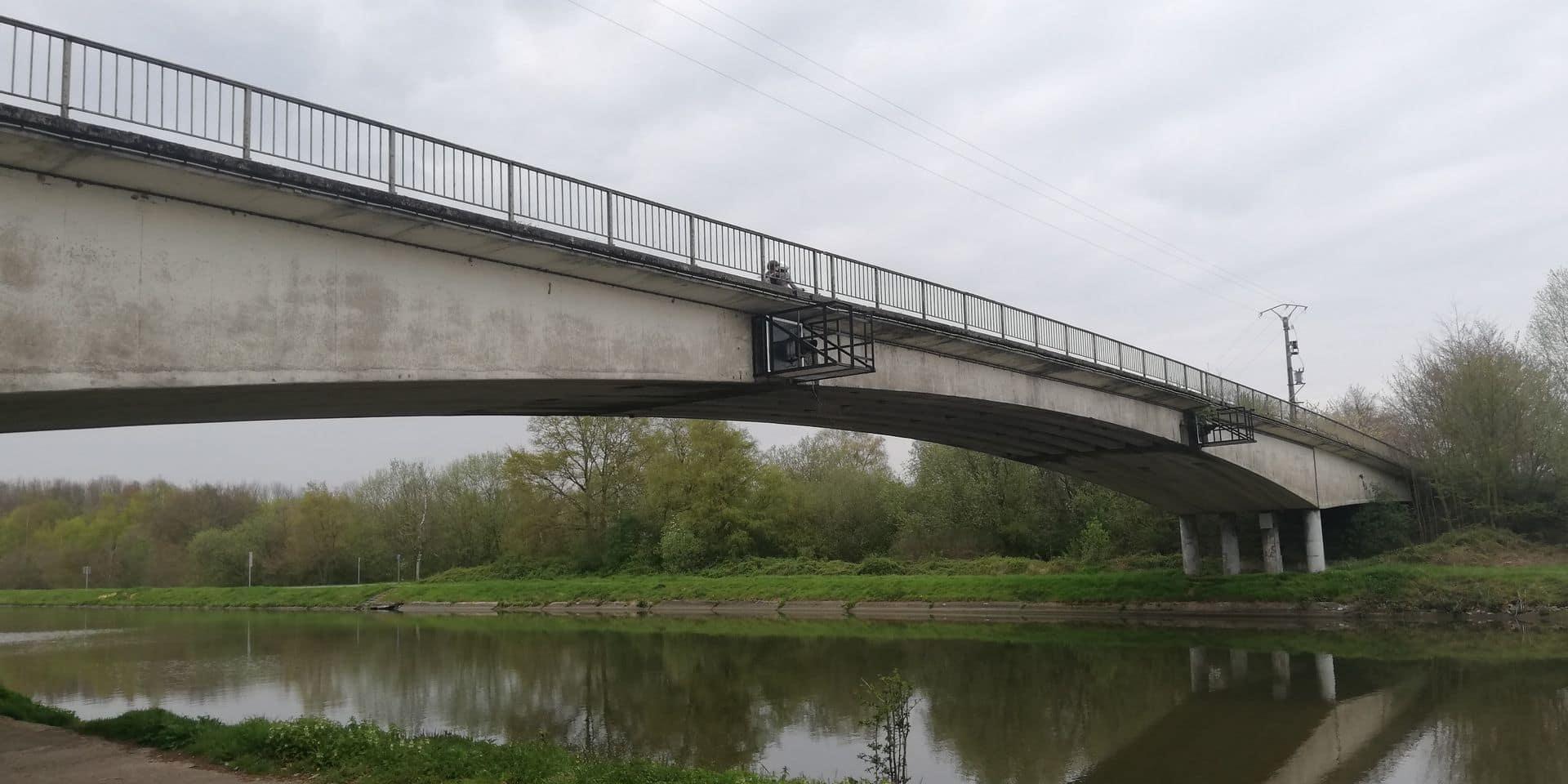 Seneffe: le chantier du pont de Tyberchamps a pris du retard