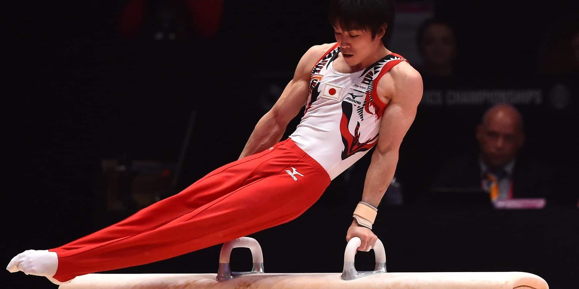 Le gymnaste japonais Uchimura positif au coronavirus