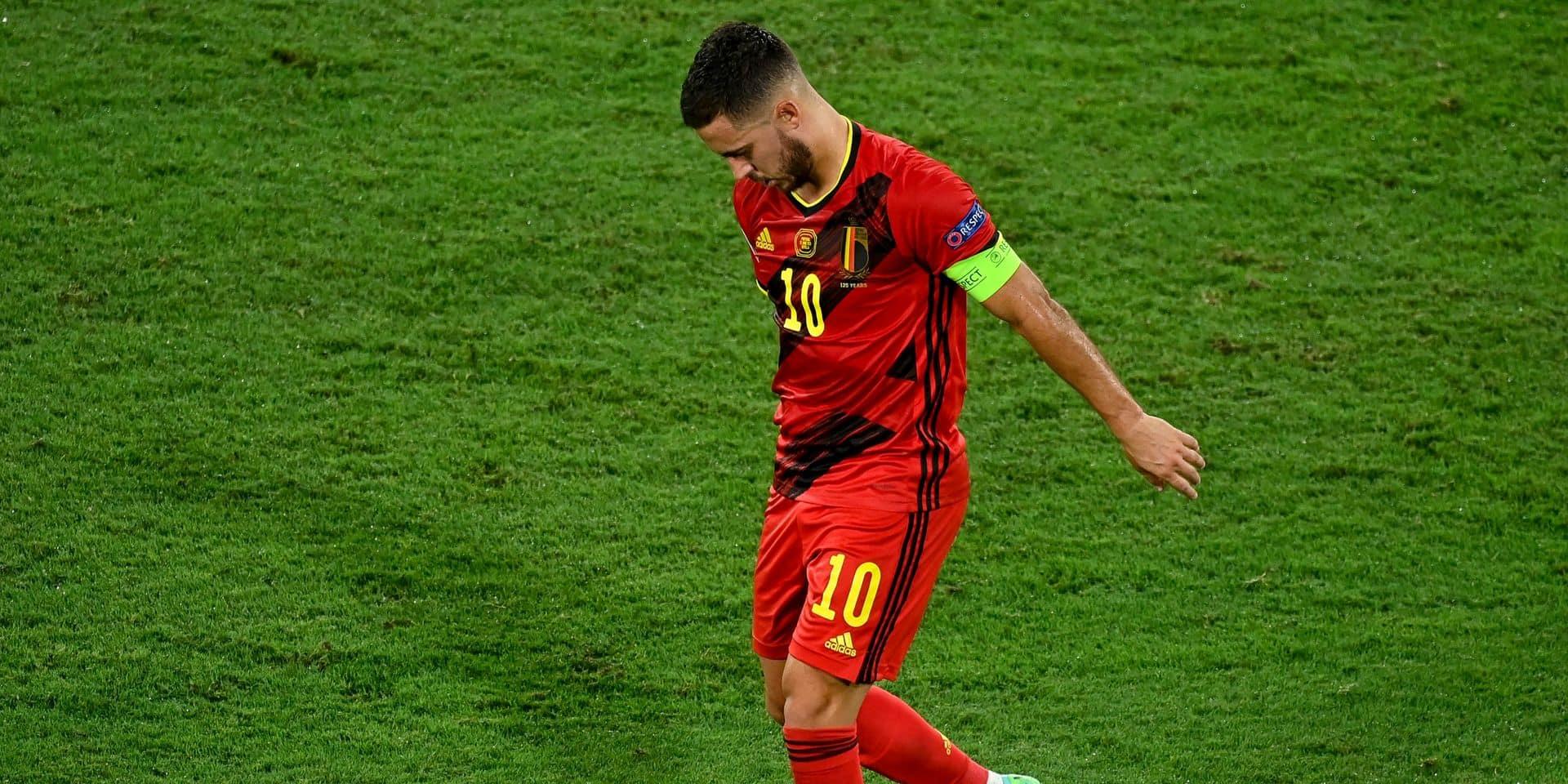 """Une semaine importante pour Hazard et De Bruyne: """"Compliqué de les avoir à 100% contre l'Italie"""""""