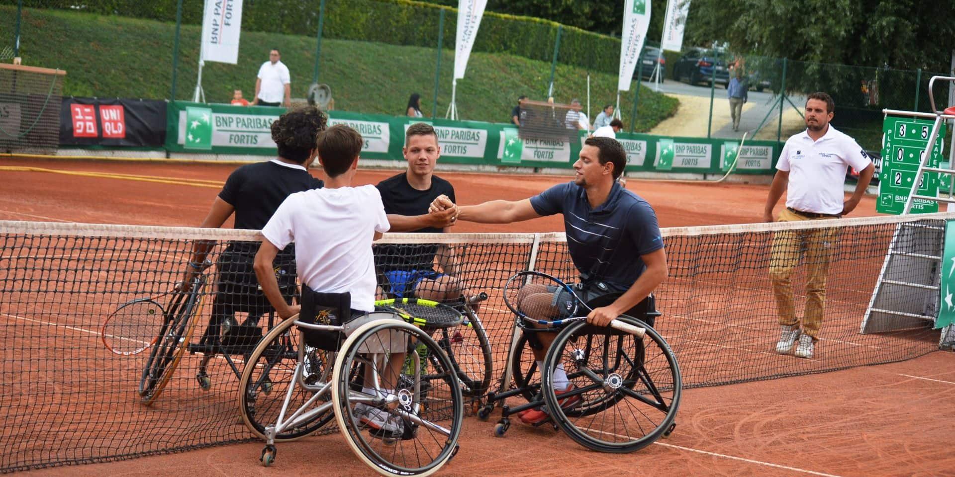 Tennis en fauteuil : pas d'Ath Open cette année