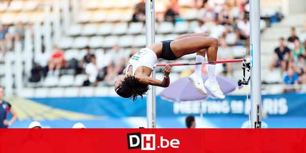 Nafissatou Thiam of Belgium during the High Jump Women the Meeting of Paris on June 30, 2018 in Paris, France. (Photo by Johnny Fidelin/Icon Sport)