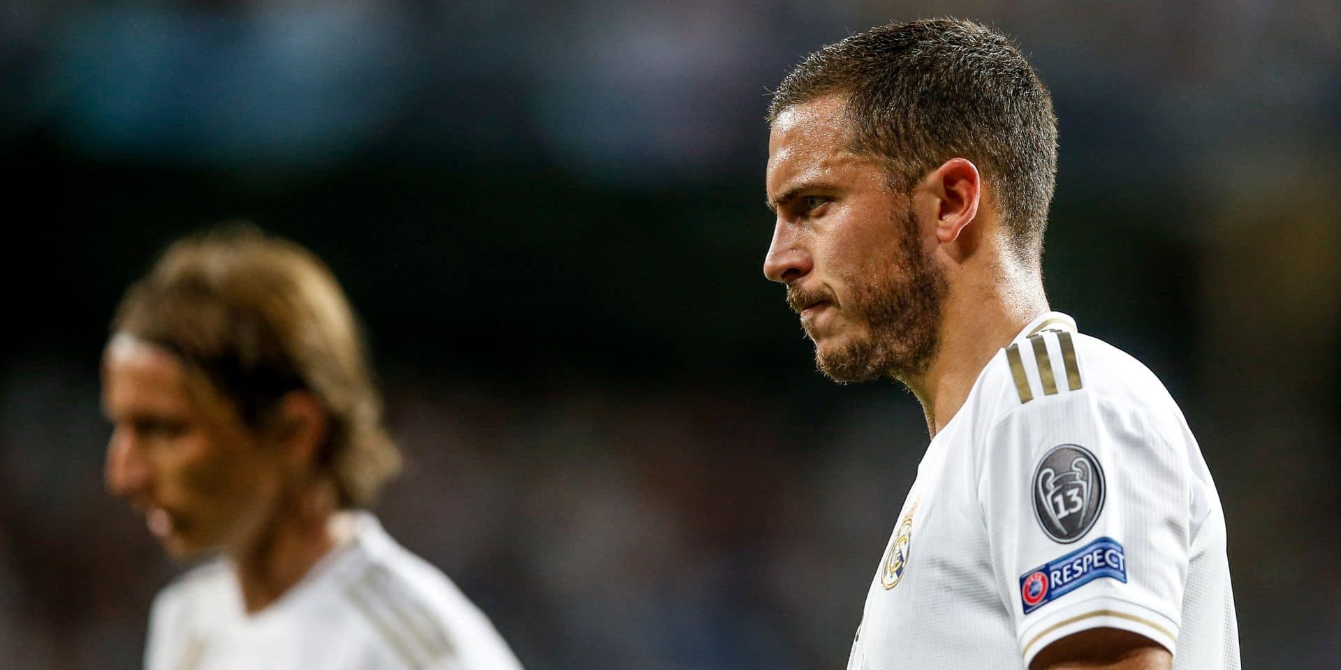 Eden Hazard monte au jeu mais le Real Madrid gaspille face au Betis