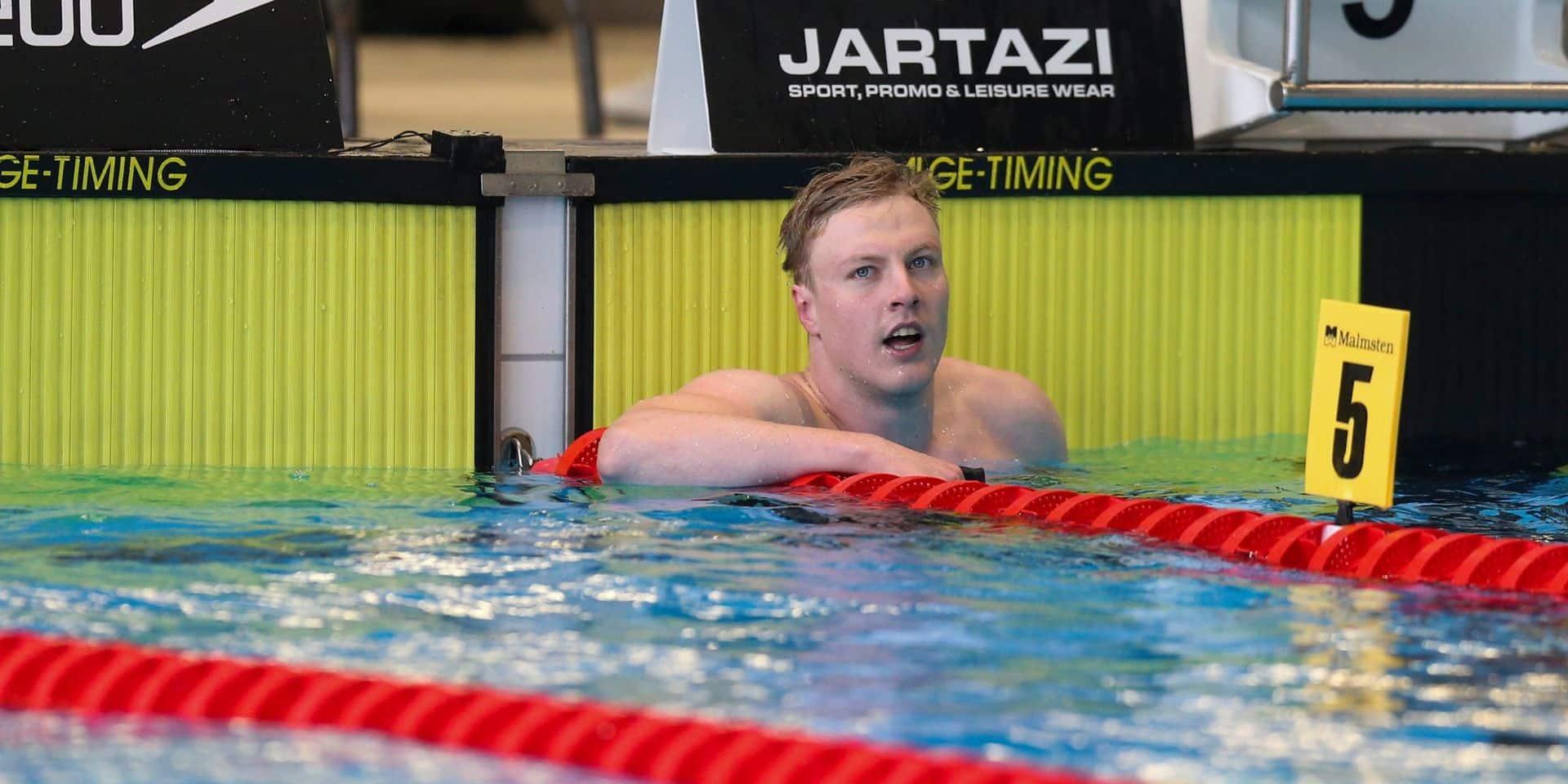 Euro de natation: la Belgique manque la finale sur le relais 4x100m nage libre