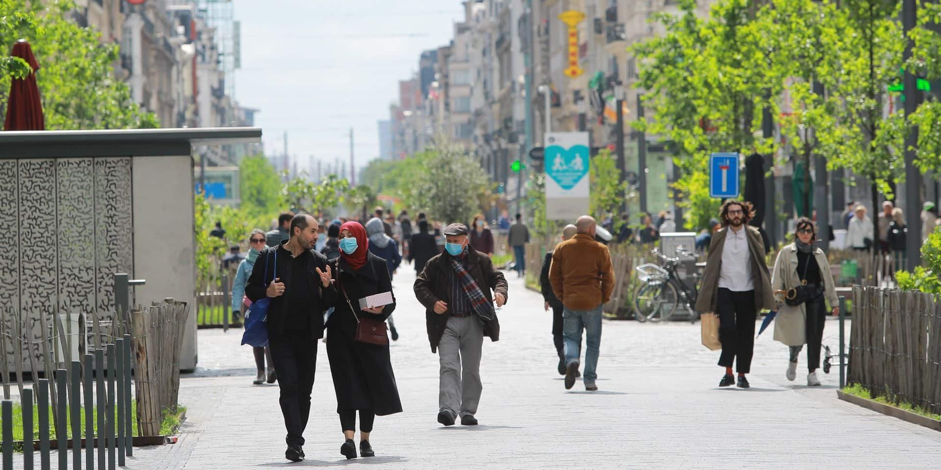 Bruxelles-Villes : le chantier du piétonnier est terminé