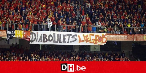 20150903 - BRUSSELS, BELGIUM: Belgium's supporters pictured during a Euro 2016 qualification games between Belgian national soccer team Red Devils and Bosnia and Herzegovina, Thursday 03 September 2015, in Brussels King Baudouin stadium (Stade Roi Baudouin - Koning Boudewijnsatdion). BELGA PHOTO BRUNO FAHY