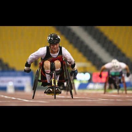 Le double champion paralympique Peter Genyn vient de frapper un nouveau grand coup!