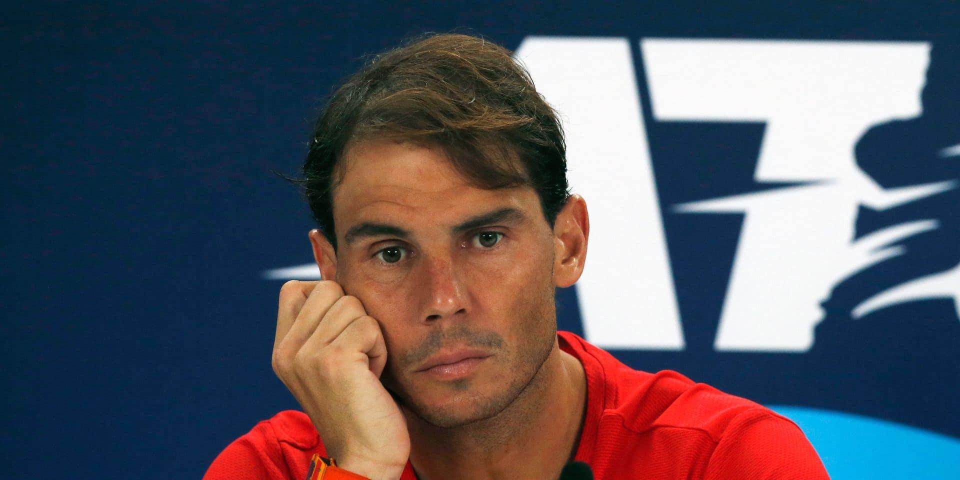 Rafael Nadal redemande la fusion de l'ATP Cup avec la Coupe Davis