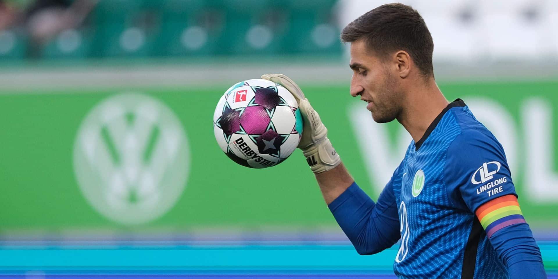 Wolfsburg ne pourra pas compter sur le gardien Koen Casteels jeudi à Athènes