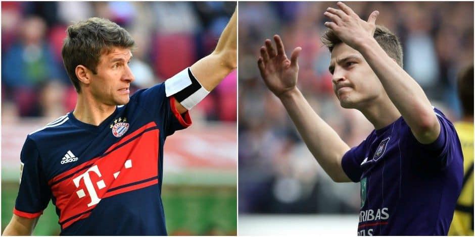 """Comment Pieter Gerkens s'est imposé à Anderlecht: """"Chez les jeunes, à Genk, un coach l'a surnommé Müller"""" - La DH"""