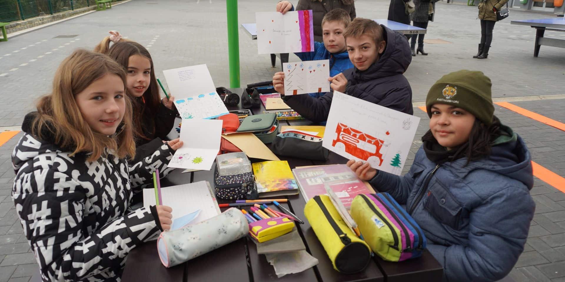 Une trentaine d'écoles du Brabant wallon distribuent des dessins aux patients et au personnel de première ligne