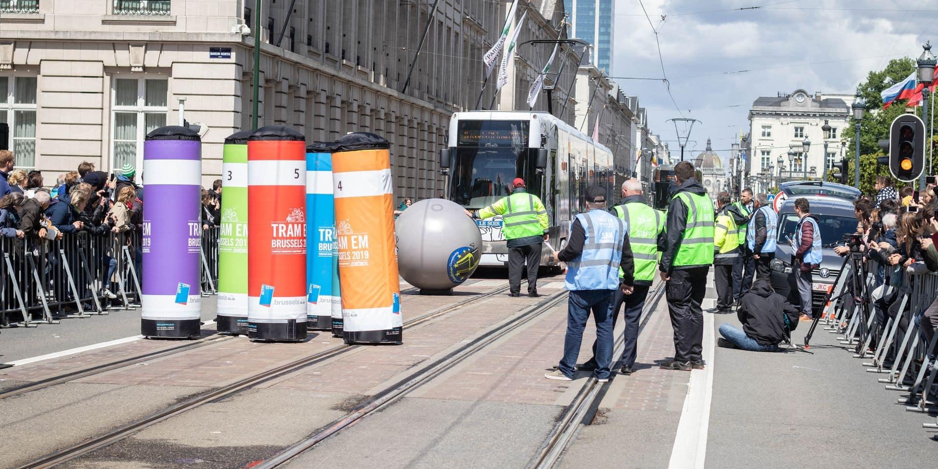 Bruxelles remporte le championnat européen du meilleur conducteur de tram