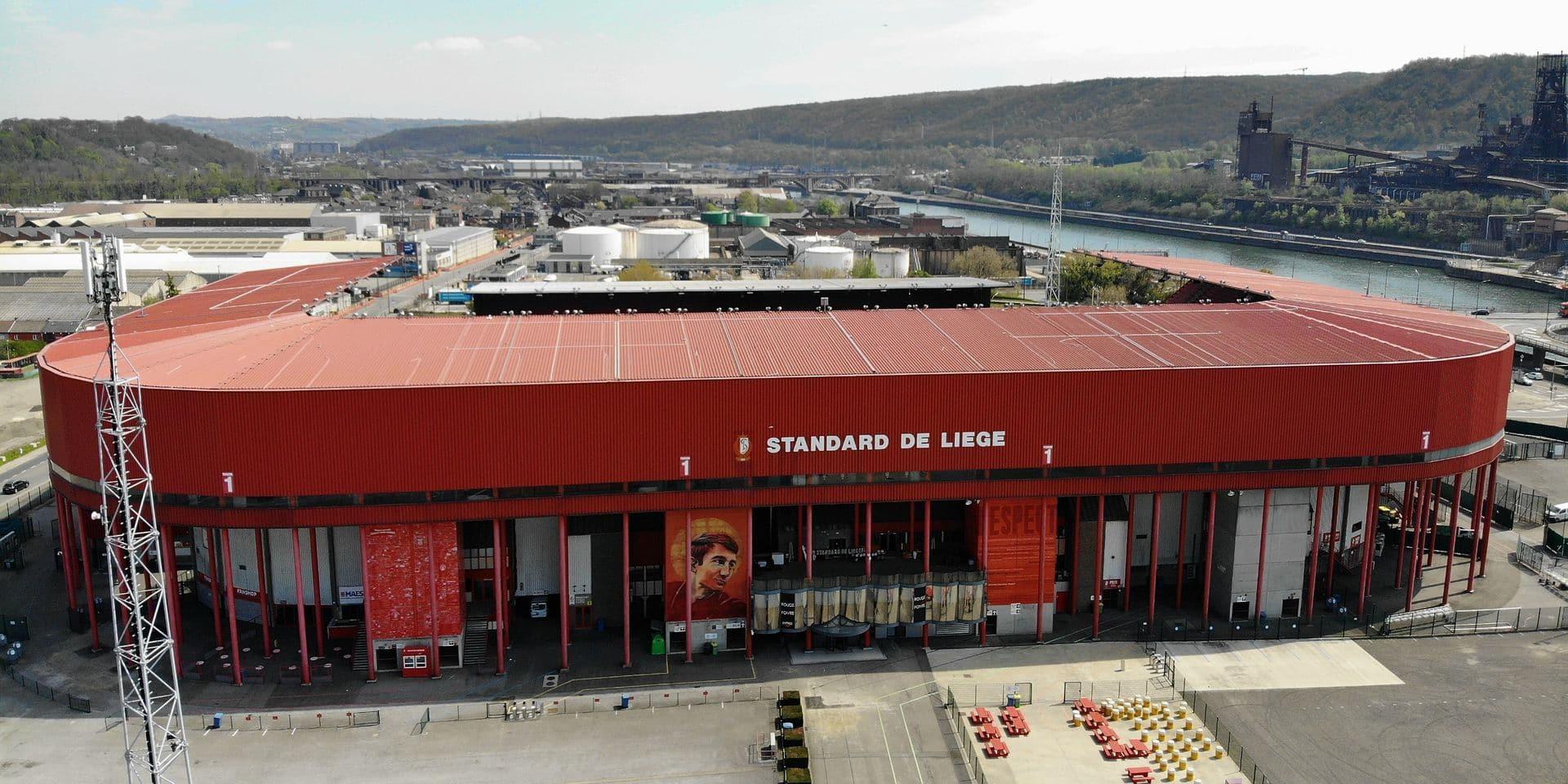Le stade du Standard transformé en centre de vaccination sans rendez-vous du 5 au 10 juillet, celui de Charleroi la semaine suivante
