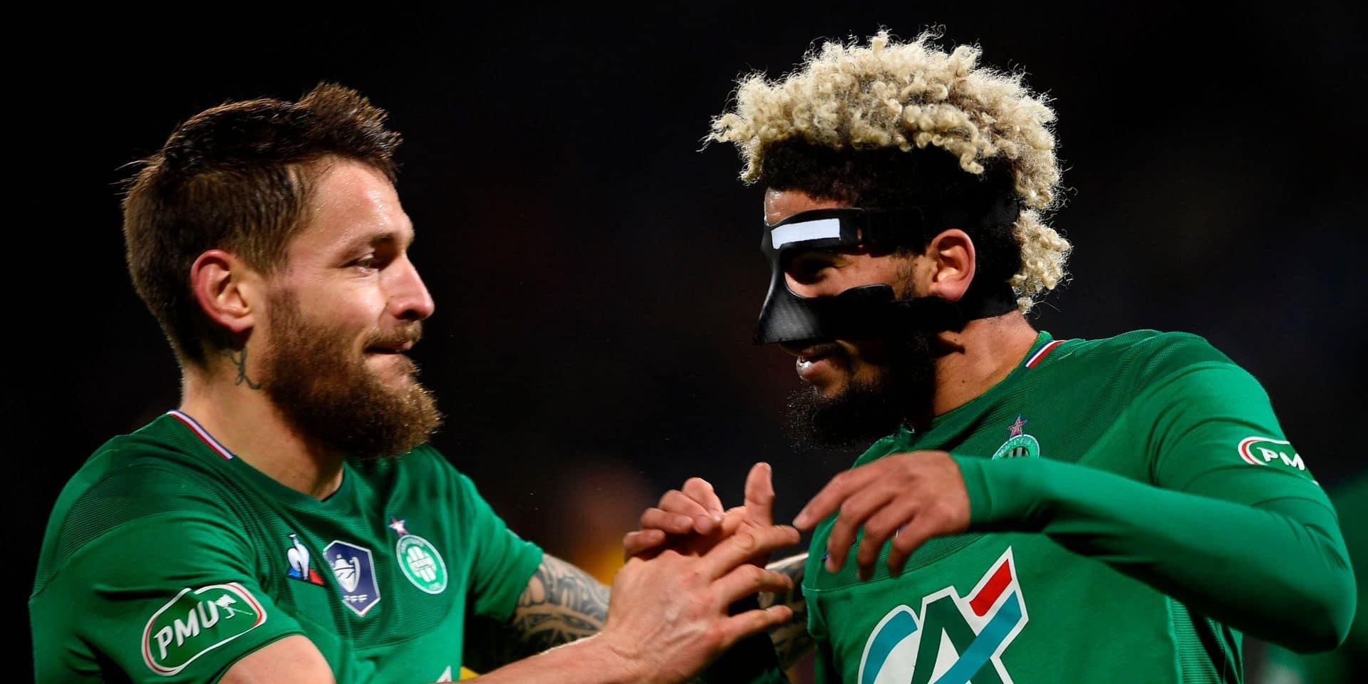 Coupe de France :Saint-Etienne a dû batailler pour écarter Épinal