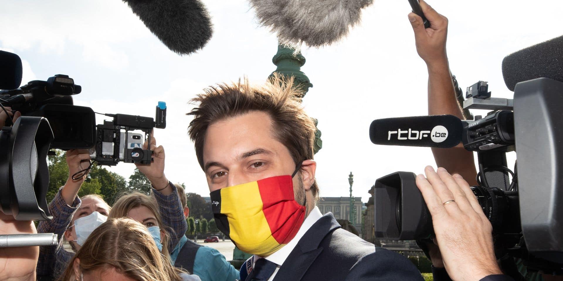 Les négociations fédérales suspendues: l'attitude de Georges-Louis Bouchez critiquée