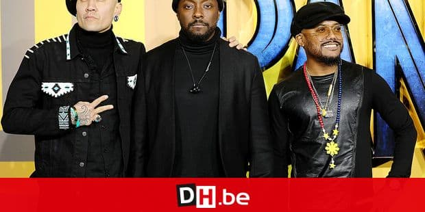 Taboo, Will.I.Am and Apl. De. Ap of the Black Eyed Peas at the 'Black Panther' film premiere in London. London, United Kingdom - Thursday Februay 8, 2018. Reporters / Photoshot